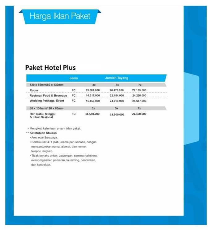 HARGA 12 HotelPlus